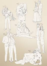 yalit couples sketches wip 1 by jeminabox on deviantart