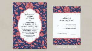 navy wedding invitations classic wedding wedding invitations by jinaiji