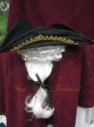 Colonial Halloween Costume George Washington Colonial Hat Wig Halloween Costume