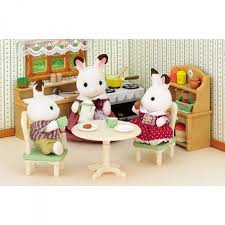 sylvanian families cuisine sylvanian family 2951 set cuisine jeux et jouets sylvanian