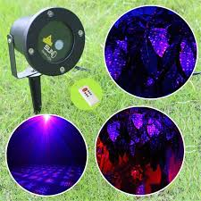 ip65 waterproof outdoor christmas lights red blue laser projector