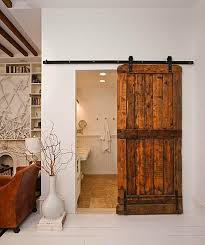 sliding barn doors are not as extravagant as you may think door
