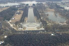 picture of inauguration crowd here are the official photos showing trump u0027s inauguration crowds