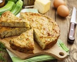 courgette boursin cuisine recette tarte à la courgette et au boursin