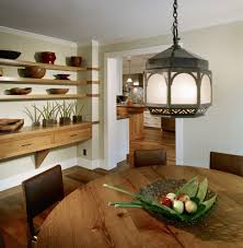 dining room floating shelves dining room modern with round dining
