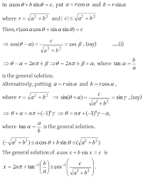 how to find the general solution of trigonometric equations