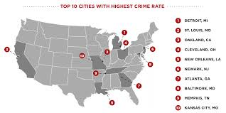 Atlanta County Map Us Crime By County Map Businessontravel Com
