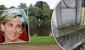 sles of funeral programs shocking state of princess diana s island grave on the 18th