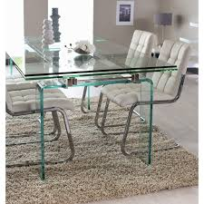 table de cuisine moderne en verre table de cuisine moderne en verre 4 table de salle a manger