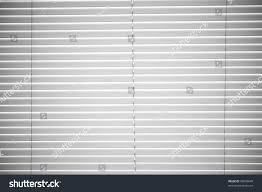 white plastic horizontal window blinds background stock photo