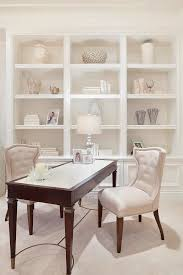 Desk Molding Office Built Ins Home Office Transitional With Beige Desk Chair
