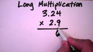 mr premus math refresher how to do long multiplication with