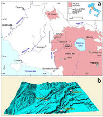 Map Of Tuscany Italy Sustainability Free Full Text The Vie Cave Geomorphological
