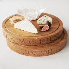 personalized cheese boards personalised oak chopping board by the oak rope company