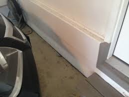 Paint Peeling Off Interior Walls Garage Concrete Wall Paint Peeling Foundation Color Stains