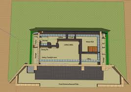 Underground Home Floor Plans Category Stone The Underground Home Directory Earth