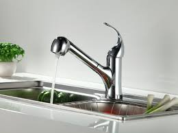 km 05a kitchen sink faucet pull out 2 functions spray mixer tap