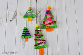 easy craft popsicle ornaments my