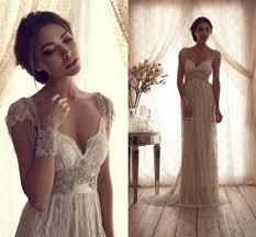 vintage wedding dress with backless lace elite wedding looks
