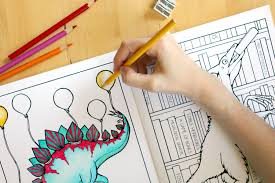 dinosaur coloring book coloring book coloring book for