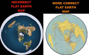 map of erth more correct flat earth map