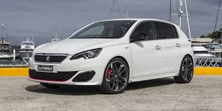 peugeot 308 gti white 2016 peugeot 308 gti review