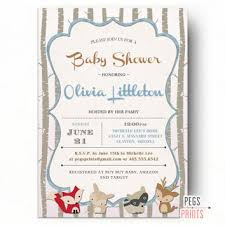 woodland baby shower invitations best woodland baby shower invites products on wanelo