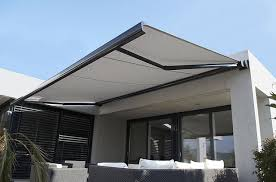 Outside Blinds And Awnings Outdoor Blinds U2013 The 3 Types Of Folding Arm Awnings Blinds4less