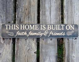 home decor family signs family home decor etsy