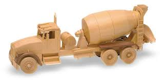 ready mix truck 25inch woodworking plan