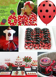 1st birthday party themes ideas for a ladybug themed 1st birthday party celebrations at home