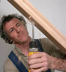 Installing Balusters And Handrails Using The Bore Buster To Drill Handrails Stair Parts Blog