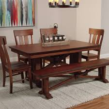 Mission Style Dining Room by Lugano Dining Table World Market