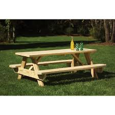 furniture lowes picnic tables picnic table and bench how much