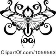 black butterfly tattoo design photos pictures and sketches