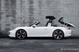 porsche 911 convertible white 2015 porsche 911 targa shines on 50th anniversary edition u0027s fuchs