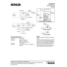 kohler k 2210 0 caxton white undermount single bowl bathroom