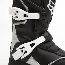 fox comp 5 motocross boots fox comp 5 black white kids boots dirtnroad com