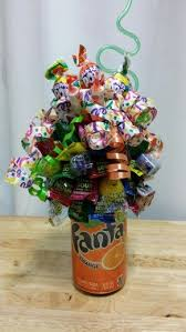 candy arrangements soda can candy bouquet soda pop can bouquet