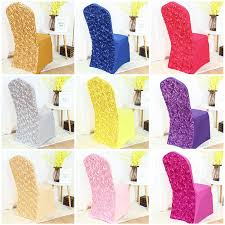 rosette chair covers various colour spandex chair cover rosette chair cover flower