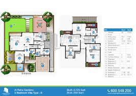 plan villa floor plan of al mariah al raha gardens
