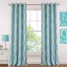 Teal Curtain Curtains Window Treatments Jcpenney