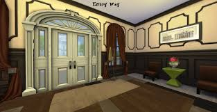 mod the sims a charming split level brownstone home