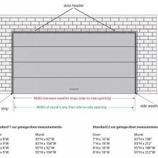 1 car garage dimensions car garage door size common sizes double dimensions with one 10 x