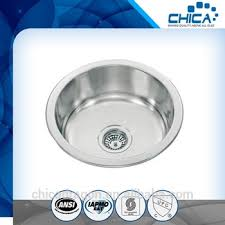 round stainless steel kitchen sink mini stainless steel kitchen sink stainless round basin made in