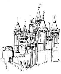 château fort coloriages autres