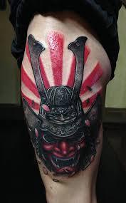 hannya mask samurai tattoo helmet tattoos samurai metal oni hannya mask japanese rising sun
