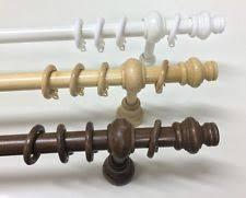 bastoni per tende in legno prezzi bastoni e binari bianco in legno per la casa ebay