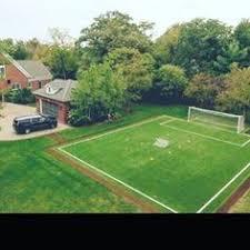 Football Field In Backyard Backyard Soccer Field So Fun For The Kids Retro Home By Sarah