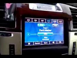 cadillac escalade radio how to use aux usb input cadillac escalade